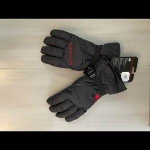 NWT Spyder Bolster Ski Gloves L/XL
